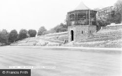 Tamworth, The Castle Grounds c.1955