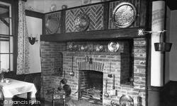 Tamworth, The Fireplace, Wigginton Hotel c.1955