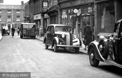 Tamworth, Vauxhall Car c.1950