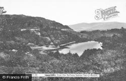 Llyn Mair From The Railway c.1950, Tan-Y-Bwlch