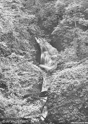 Plas Tan-Y-Bwlch, The Waterfall 1930, Tan-Y-Bwlch