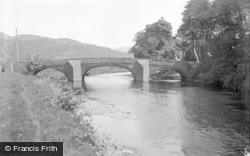 The Bridge c.1939, Tan-Y-Bwlch