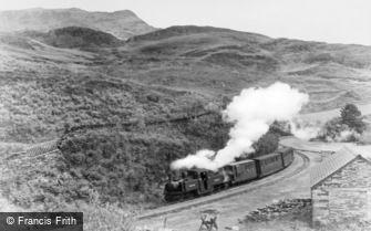 Tan-y-Bwlch, the Ffestiniog Railway c1955