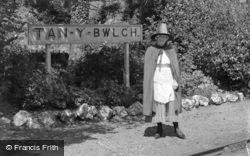 The Station Mistress c.1939, Tan-Y-Bwlch