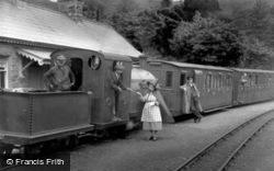 The Station Mistress, Ffestiniog Railway 1937, Tan-Y-Bwlch