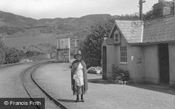 The Station Mistress, Ffestiniog Railway c.1939, Tan-Y-Bwlch