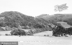 View From The Old Post Office Antiques And Craft c.1960, Tan-Y-Bwlch