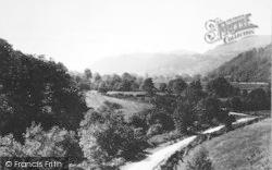 View Of Maentwrog Valley c.1955, Tan-Y-Bwlch