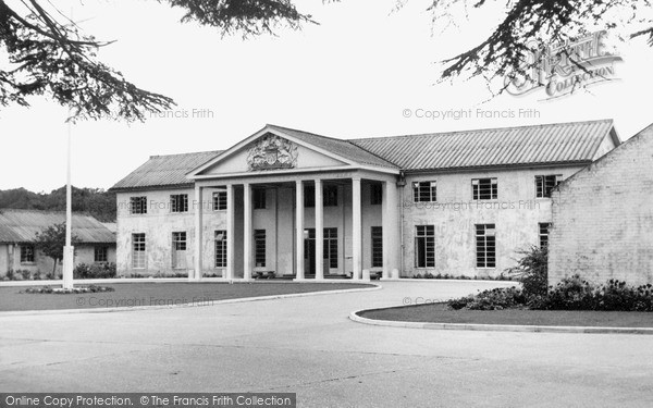 Taplow, Canadian Red Cross Memorial Hospital c.1955