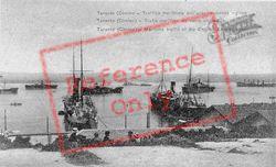 Maritime Traffic Of The English Encampment c.1917 , Taranto
