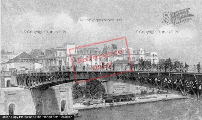 Photo of Taranto, Ponte Girevole Chiuso c.1910