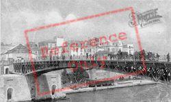 Ponte Girevole Chiuso c.1910, Taranto