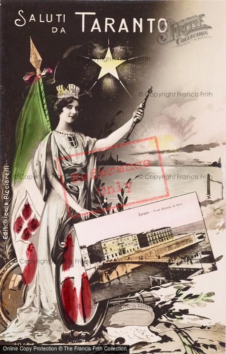 Photo of Taranto, Saluti Da Taranto c.1920
