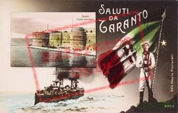 Saluti Da Taranto c.1920, Taranto