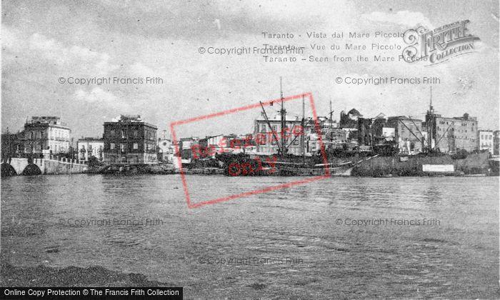 Photo of Taranto, Seen From Mare Piccolo c.1917