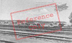 The English Encampment c.1917, Taranto