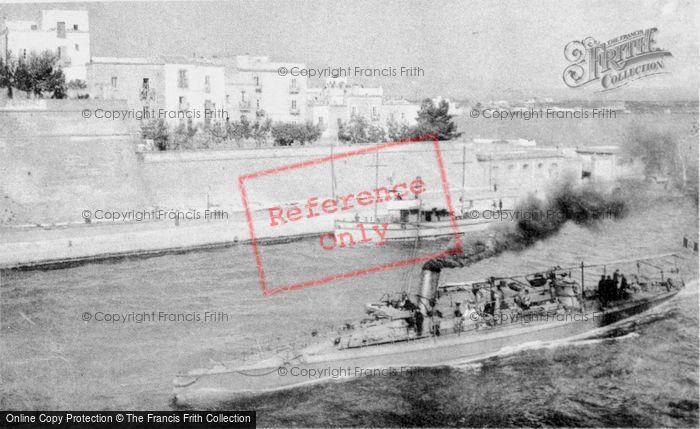 Photo of Taranto, Torpedo Boat c.1910