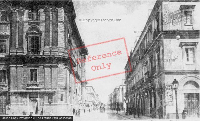 Photo of Taranto, Via D'Aquino c.1910