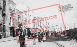 Via Garibaldi c.1910, Taranto