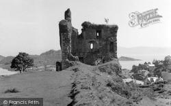 Tarbert, Castle 1955