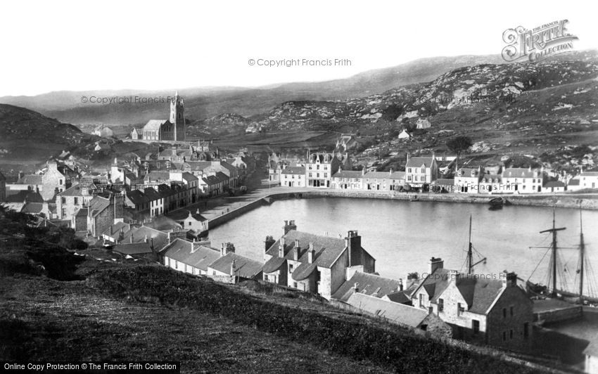 Tarbert, from the South c1890