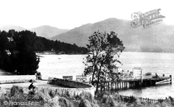 Tarbet, Loch Lomond, The Pier 1899