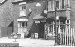 Shop On Church Road c.1955, Tarleton