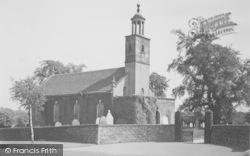 St Mary's Church c.1955, Tarleton