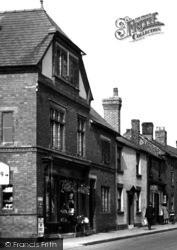 Tarporley, High Street c.1955