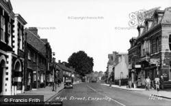 High Street c.1955, Tarporley
