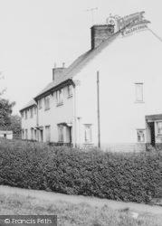 Tarporley, Houses In Churchill Drive c.1965