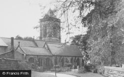 Tarporley, St Helen's Church c.1955