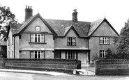 Tarporley, the Old Manor House (1586) c1955