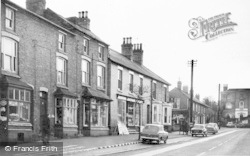 Tarvin, High Street And Tarvin Hall c.1960