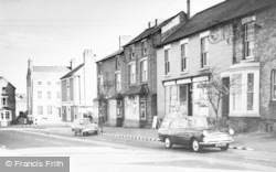 Tarvin, High Street c.1960
