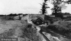 Tarvin, Roman Bridge c.1955
