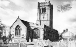 Tarvin, St Andrew's Church c.1960