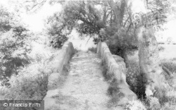 Tarvin, The Roman Bridge c.1955