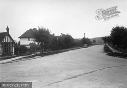 Tattenham Crescent c.1955, Tattenham Corner