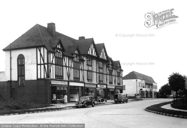 Photo of Tattenham Corner, The Parade c.1955