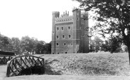Tattershall, Castle c1955