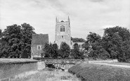 Tattershall, Church and Castle Guardhouse c1955