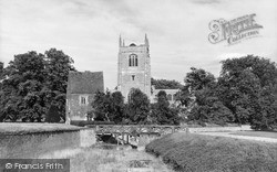 Church Of The Holy Trinity And Castle Guardhouse c.1955, Tattershall