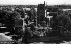 Church Of The Holy Trinity c.1955, Tattershall