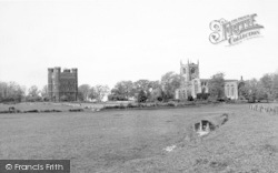 The Church And Castle c.1955, Tattershall