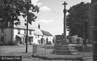 Tattershall, War Memorial c1955