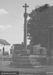 War Memorial c.1955, Tattershall