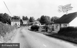 Entrance To Village From South c.1960, Tatworth
