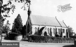 St John's Church c.1960, Tatworth