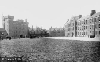 Taunton, Barracks 1894